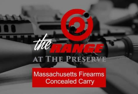 Massachusetts Firearms Concealed Carry