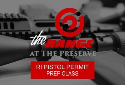 Rhode Island Pistol Permit Prep Class